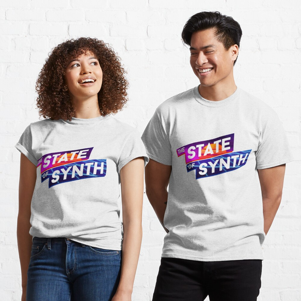 The State of Synth Sunset Classic T-Shirt