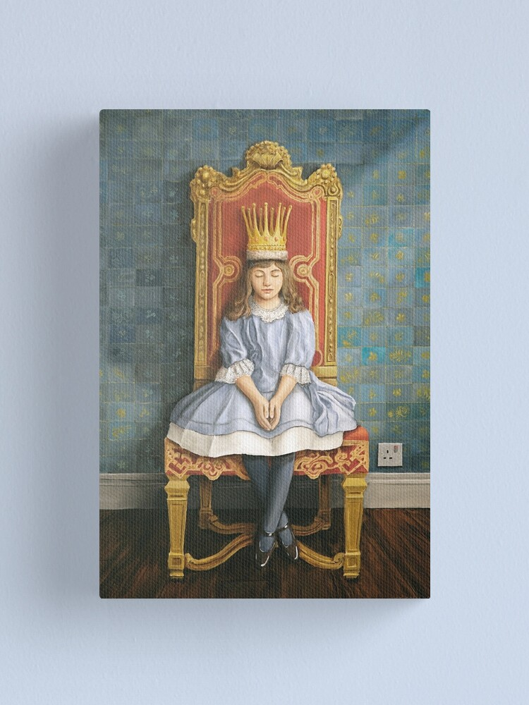 Alternate view of A Peaceful Reign Canvas Print