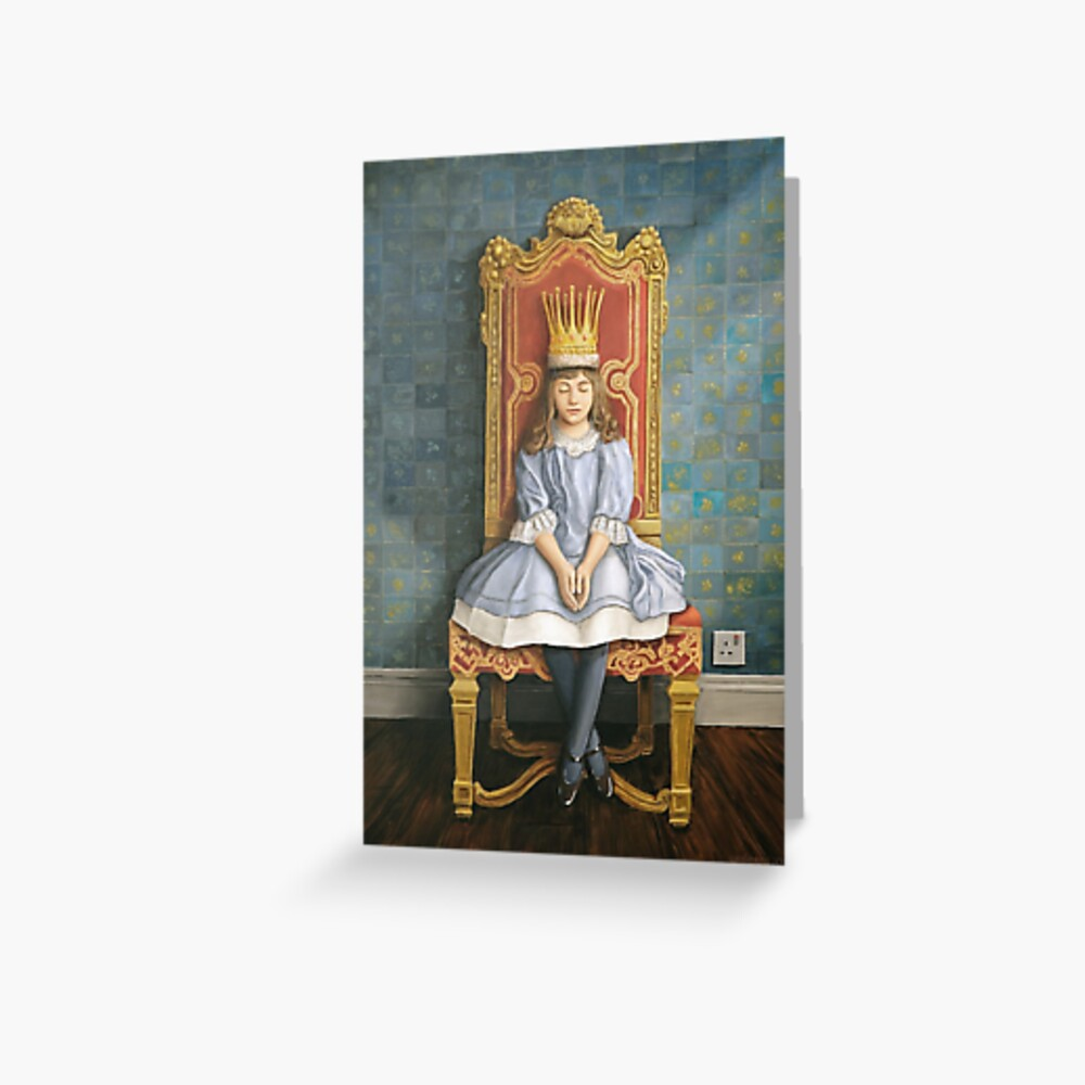 A Peaceful Reign Greeting Card