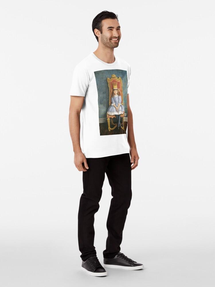 Alternate view of A Peaceful Reign Premium T-Shirt