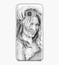 Kylie Minogue 2016 - Pop Princess! (black/white) Samsung Galaxy Case/Skin