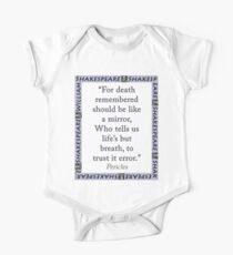 For Death Remembered - Shakespeare Kids Clothes