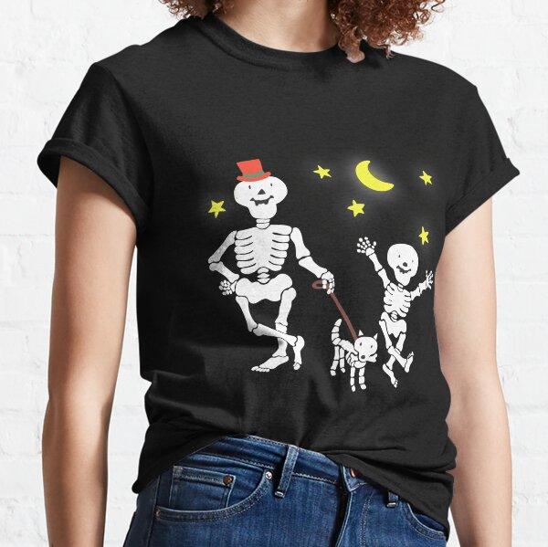 Funny Bones Retro 80s 90s TV Cartoon Design Classic T-Shirt