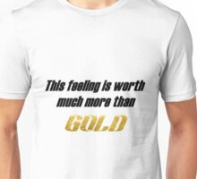 Ricky Dillon GOLD lyrics Unisex T-Shirt