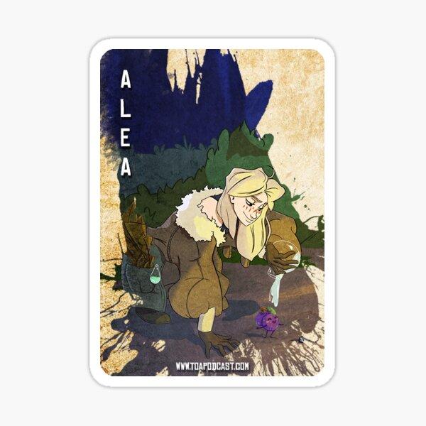 Alea Card Sticker