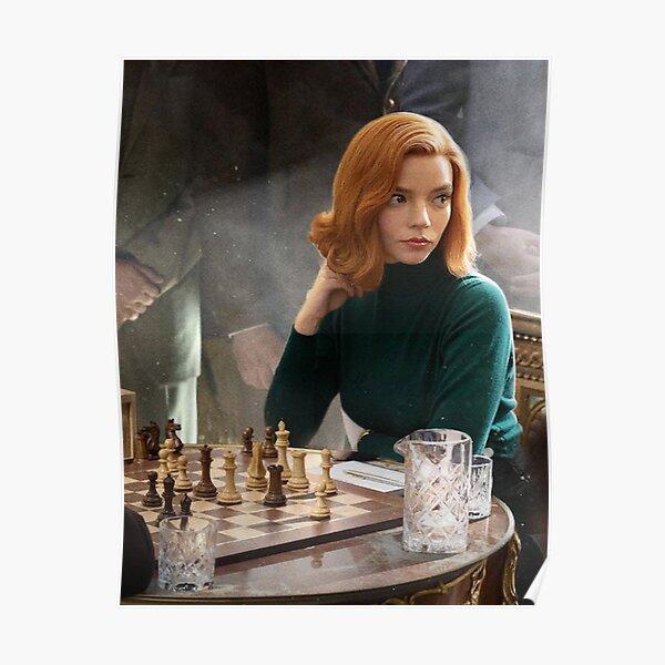 The Queen's Gambit anya taylor Poster