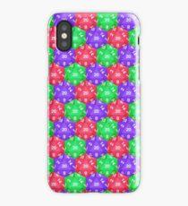 d20 Pattern iPhone Case