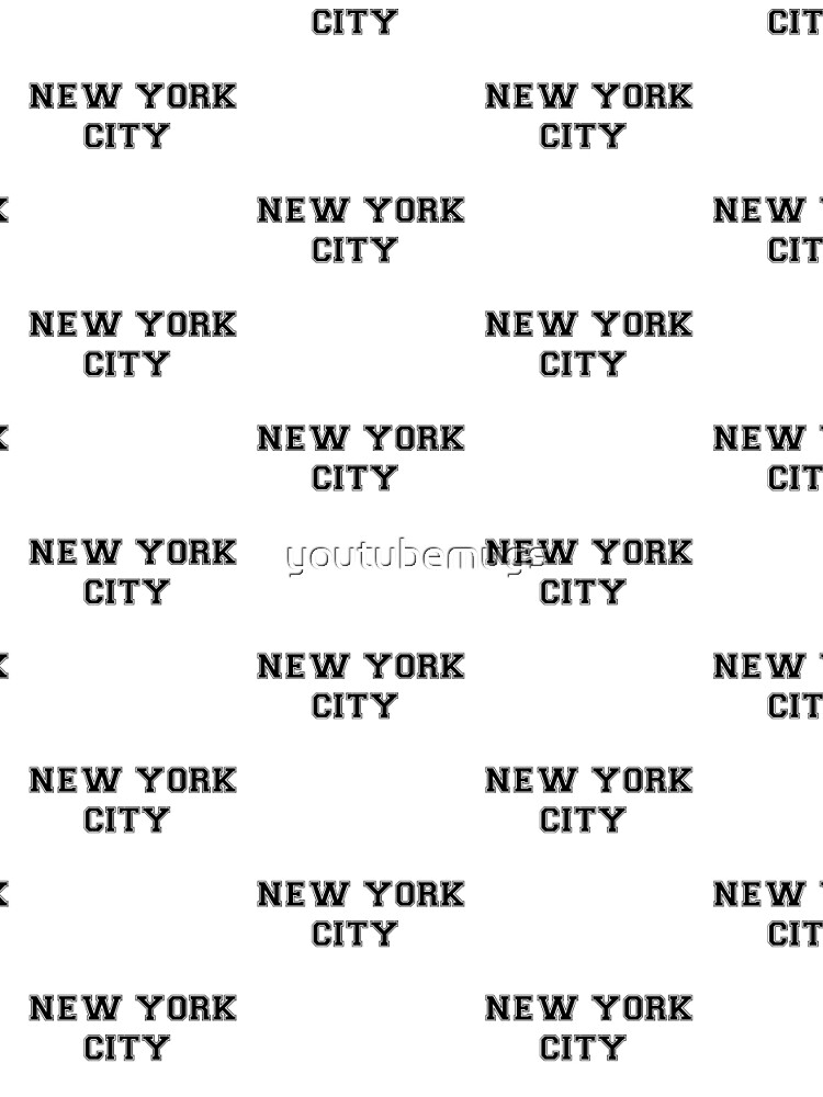 NEW YORK CITY merchandise!  de youtubemugs
