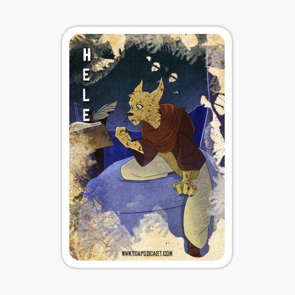 Hele Card Sticker