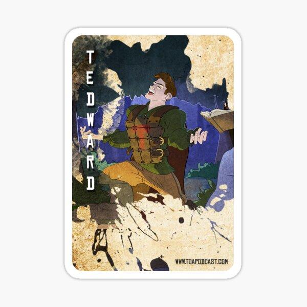 Tedward Card Sticker