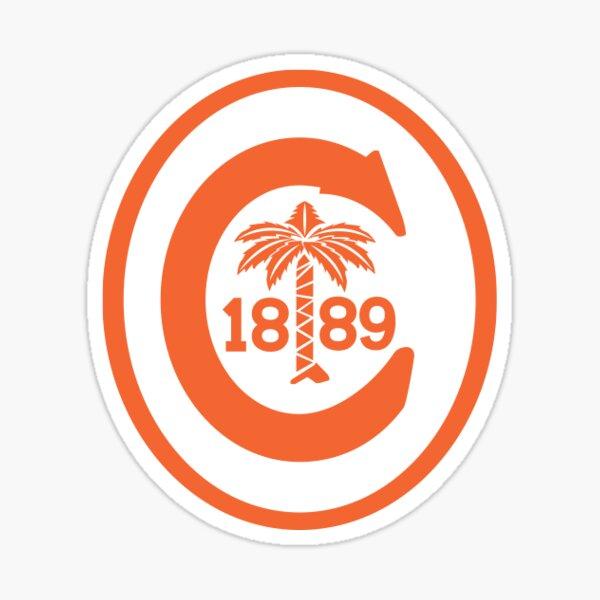 Vintage Clemson Logo Sticker