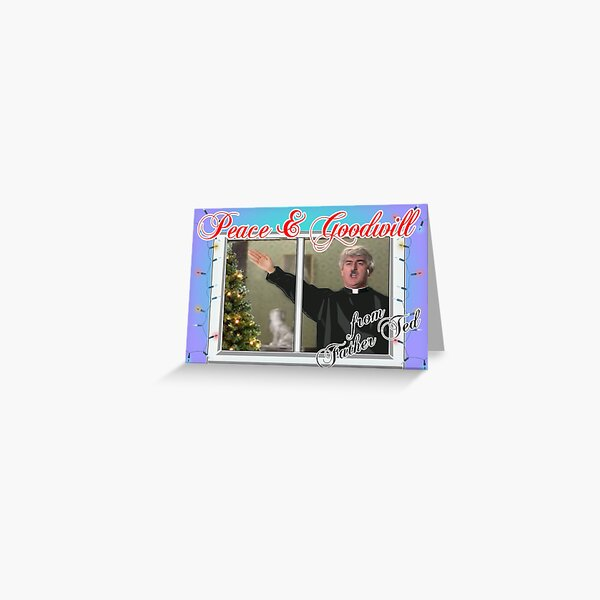 Father Ted Merry Christmas Greeting Card