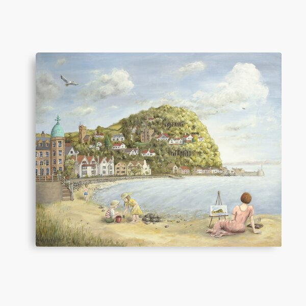 Minehead Bay Canvas Print