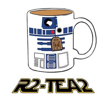 R2-D2 Tea shirt by ZioxX2