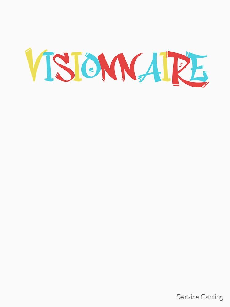 «VISIONNAIRE | T-SHIRT OLI» par zWarFR