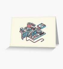 Motherboard Greeting Card