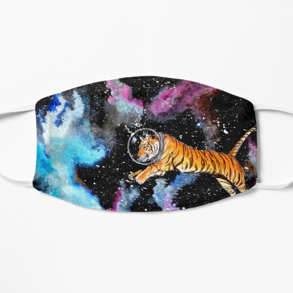 Space Tiger With Helmet Mask