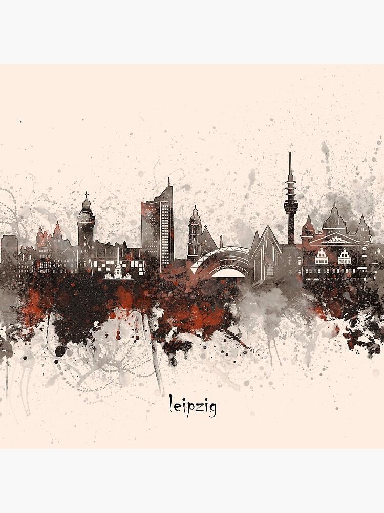 leipzig skyline by BekimART2