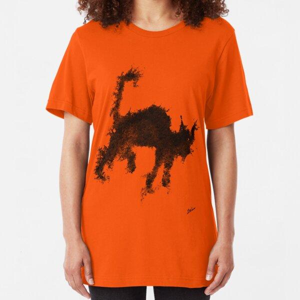 Électrichat • Electricat • Electrigato Slim Fit T-Shirt