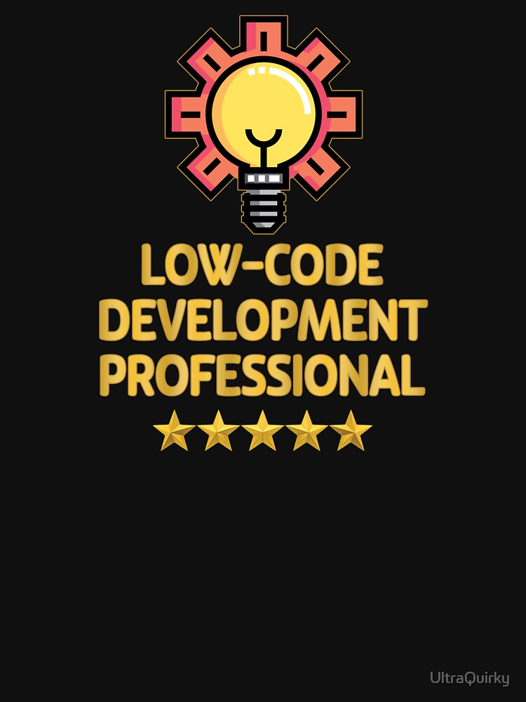 Low-Code Development Professional. by UltraQuirky