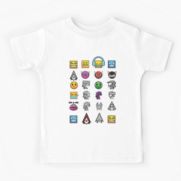 geometry dash insaine Kids T-Shirt