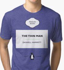 The Thin Man Book Cover tee Tri-blend T-Shirt