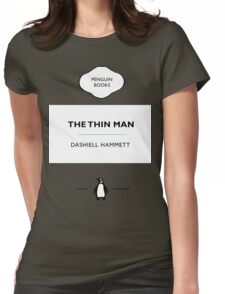 The Thin Man Book Cover tee Womens Fitted T-Shirt