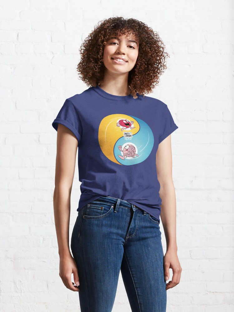 Vista alternativa de Camiseta clásica  J&B - YINYANG