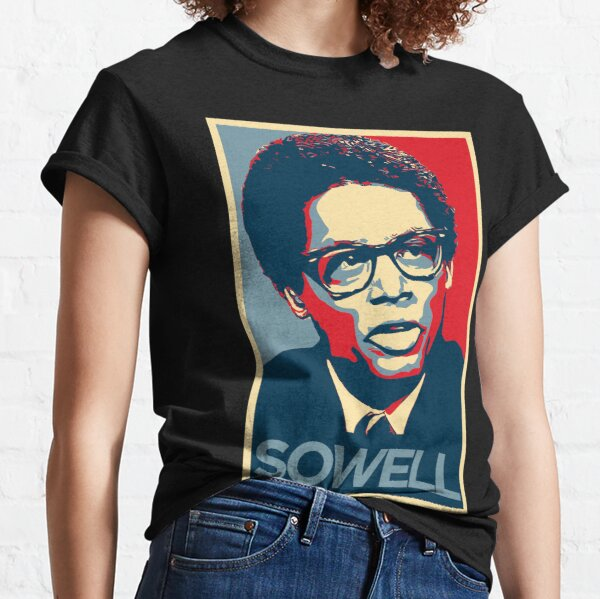 Thomas Sowell in color Classic T-Shirt