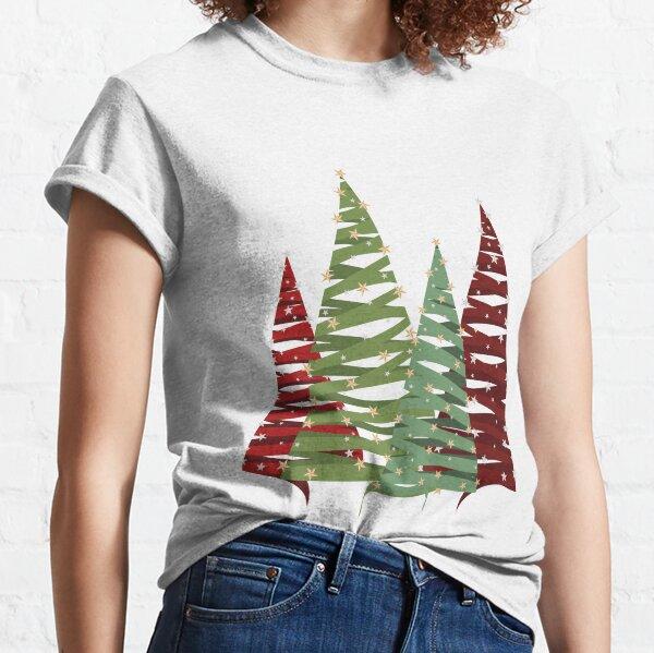 Weihnachtsbäume Classic T-Shirt