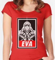 Evangelion Women's Fitted Scoop T-Shirt