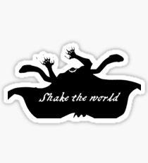 "Whitebeard ""Shake the world"" Inside Sticker"