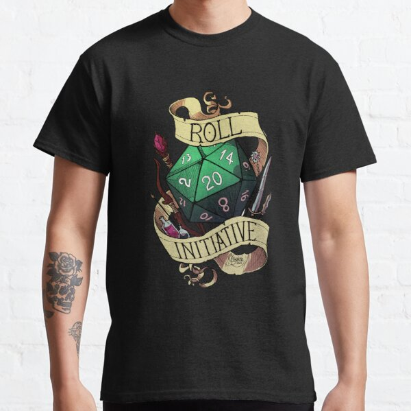 Roll Initiative Classic T-Shirt