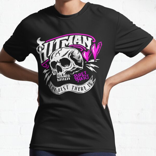 Vintage Hitman The Best There Is Bret Hart  Active T-Shirt