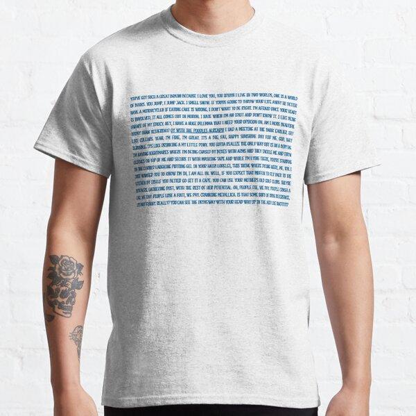 Multi Gilmore Quote Classic T-Shirt