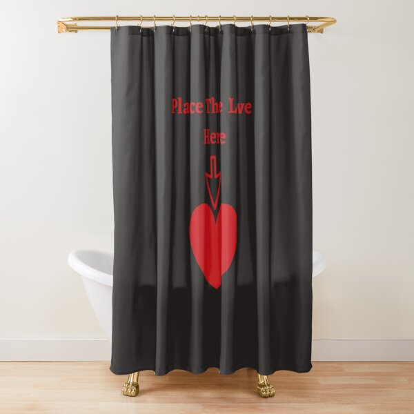 The Place For Love Shower Curtain