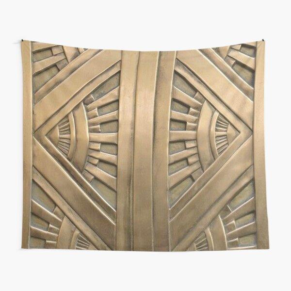 Art deco,vintage,elegant,chic,1920 era,bronze,beautiful,the great gatsby Tapestry