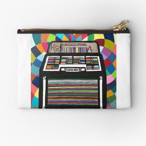 Jukebox Zipper Pouch