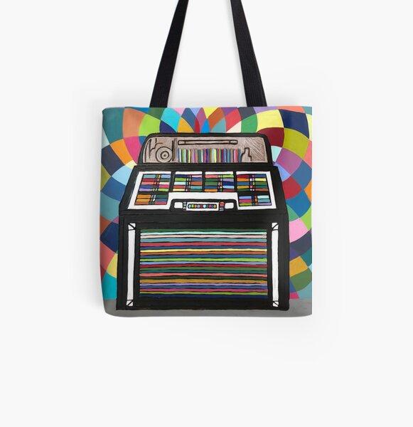Jukebox All Over Print Tote Bag