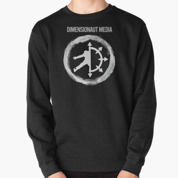 Dimensionaut Media Logo - light Pullover Sweatshirt