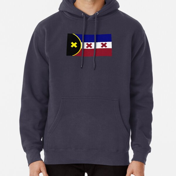 lmanberg flag Pullover Hoodie