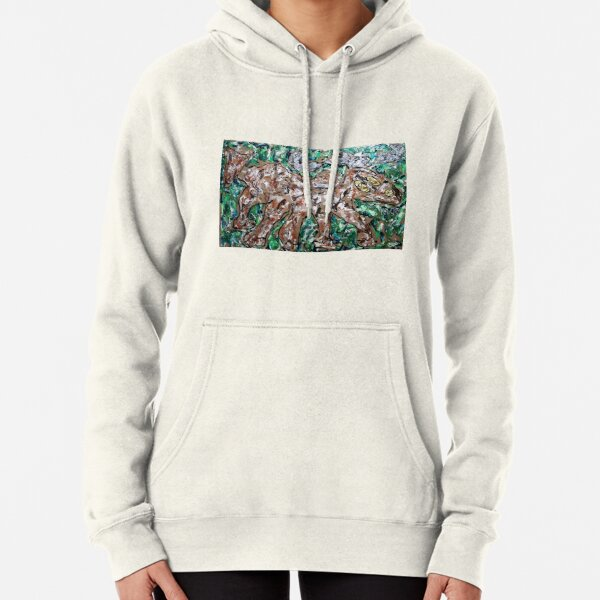 Running Caribou Pullover Hoodie