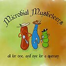 Microbial Musketeers by the vexed  muddler