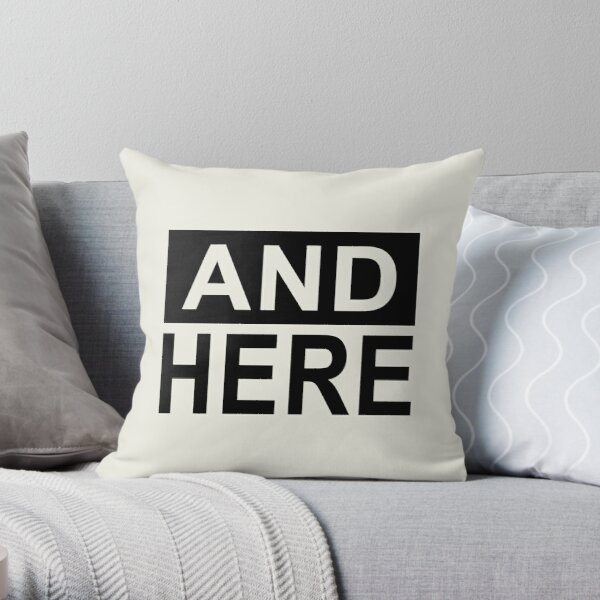 I Had Sex Here - And Here Throw Pillow