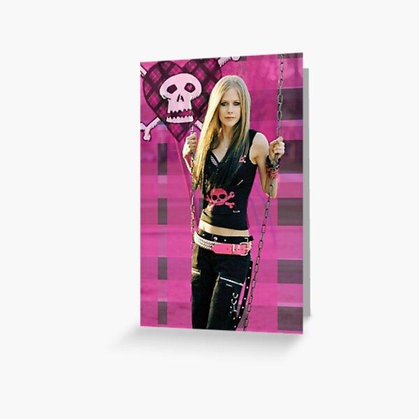 Avril Lavigne  Tarjetas de felicitación