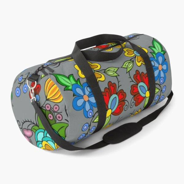 Woodland grey Duffle Bag