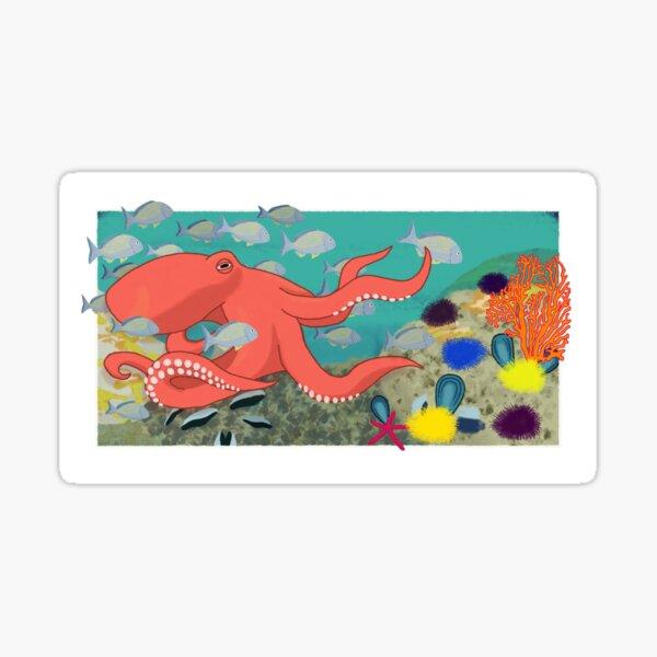 Octopus teacher Sticker