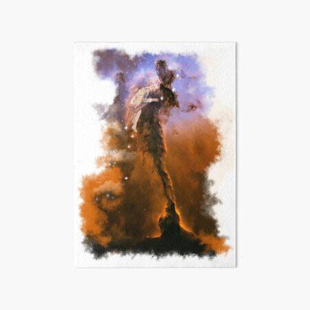 Nebulosa della madre Art Board Print