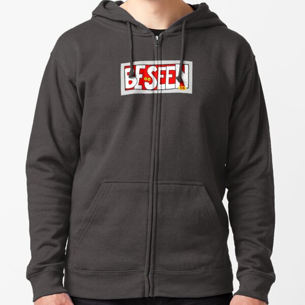 Be Seen Zipped Hoodie