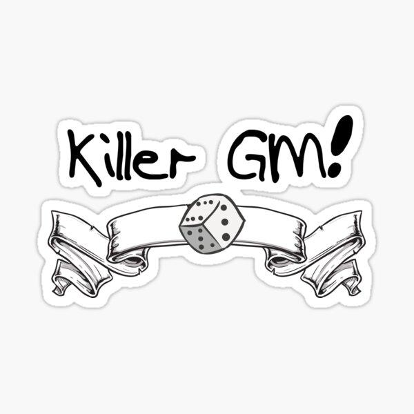 Killer GM Sticker